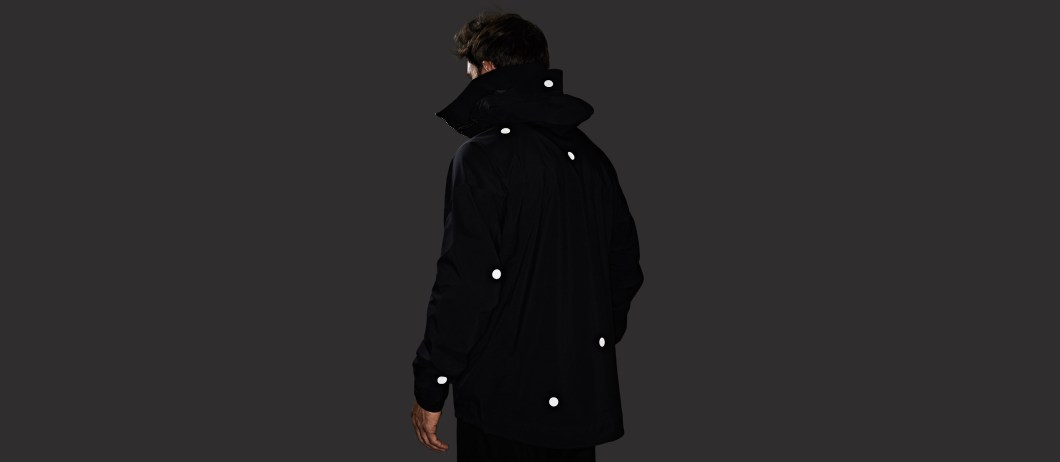Vollebak Calls The Black Light Jacket The World's First All-Black Reflective Jacket