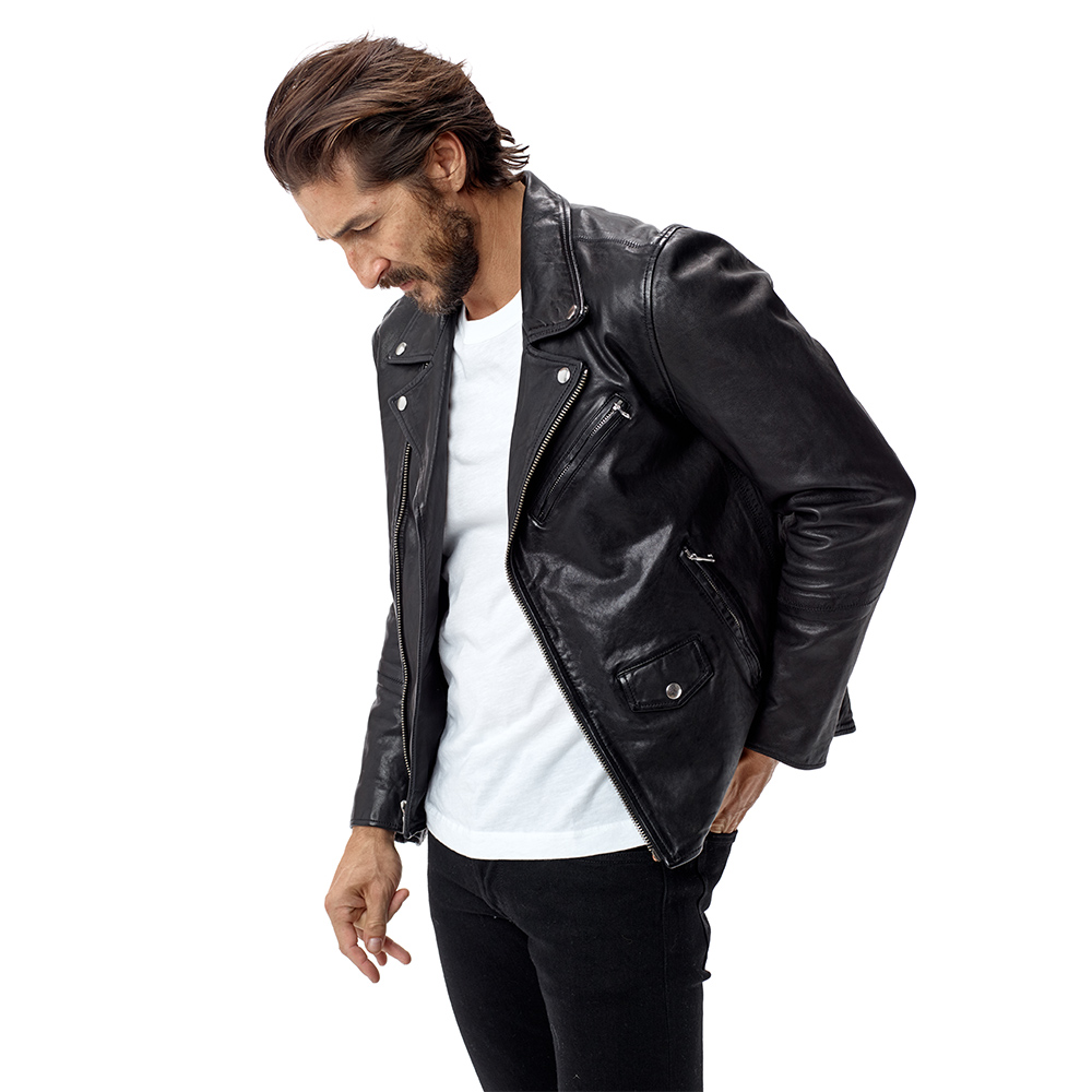 Buck Mason Bruiser Leather Jacket: Iconic Style, Premium Build