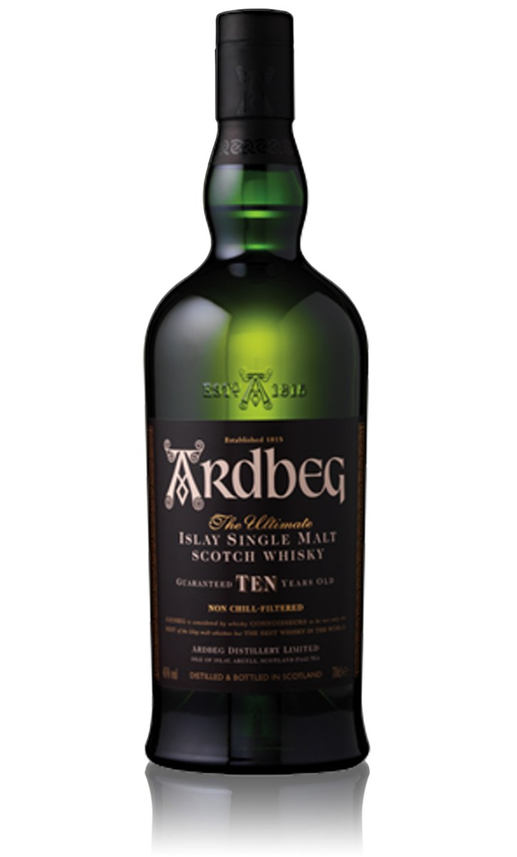 Ardbeg Ten Years Old Single Malt Whisky: Straight from Islay For Over 200 Years
