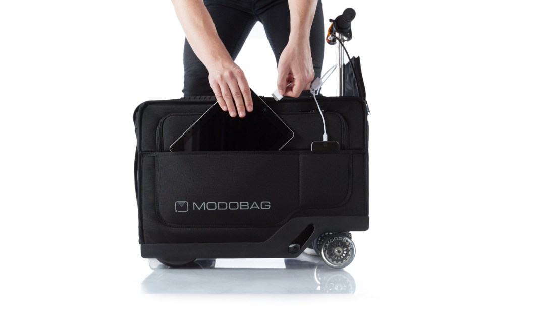 ModoBag is the Ride-On Suitcase You Never Knew You Wanted