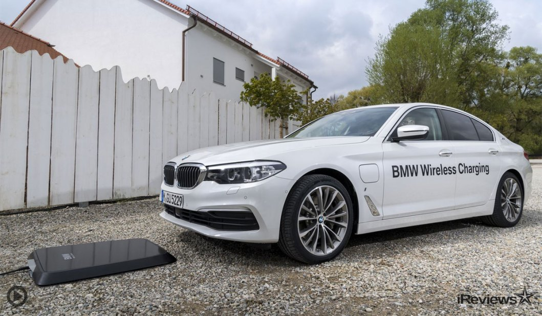BMW Just Released A Wireless Charging Station For EV's – the GroundPad