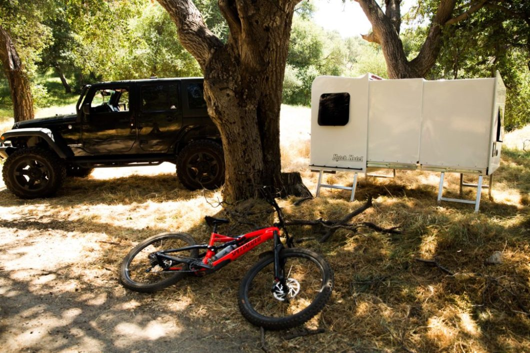 The Hitch Hotel: The Camper That Fits On Your Hitch