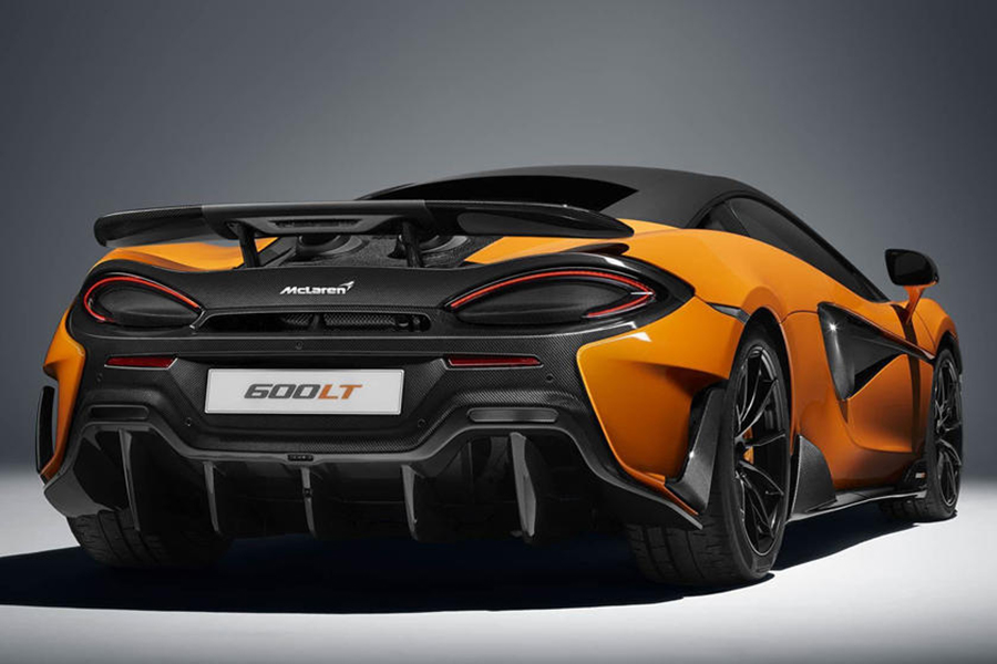 The New McLaren 600LT Just Debuted