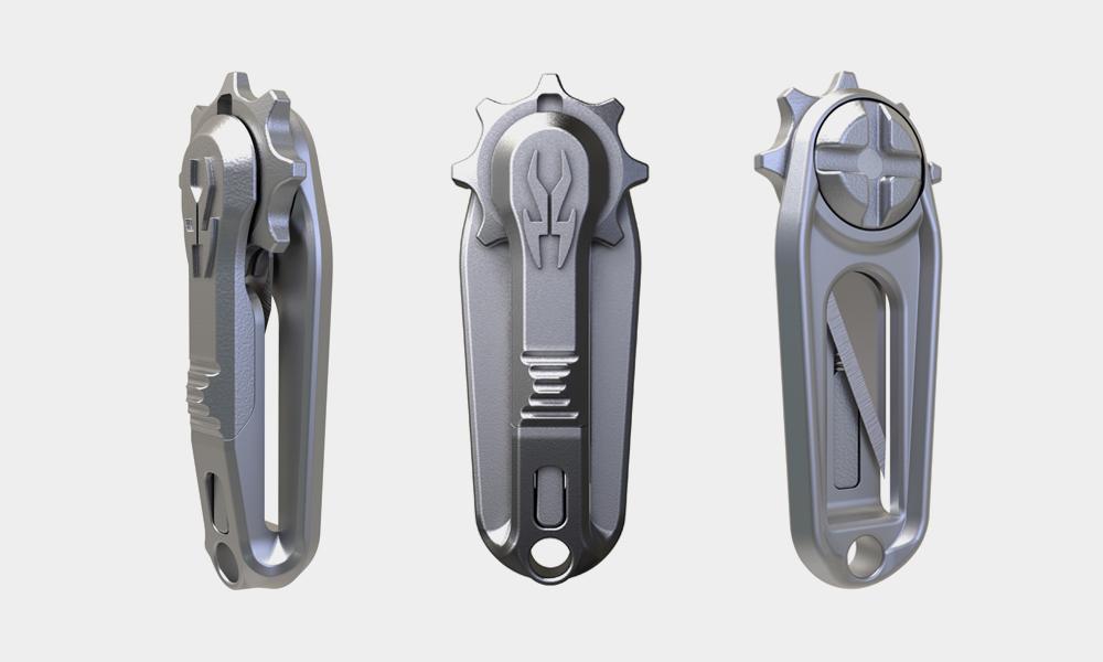 The Everyday Blade From Korcraft: Ultralight Razor Blade Holder