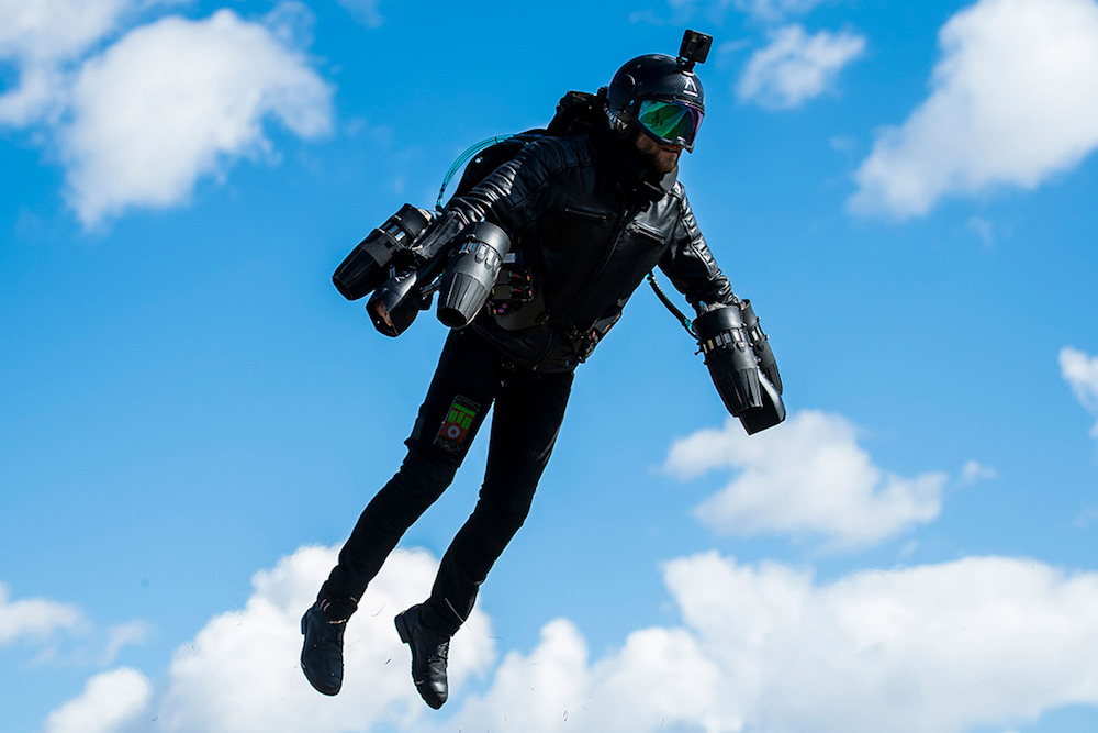 The Gravity Industries Jet Suit Lets You Become A Real-Life Iron Man