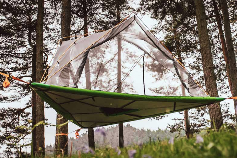 The Tentsile Universe Is A Tent For Any Terrain – Even Water