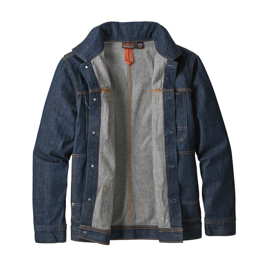 Patagonia's New Steel Forge Denim Jacket Has 8% Dyneema