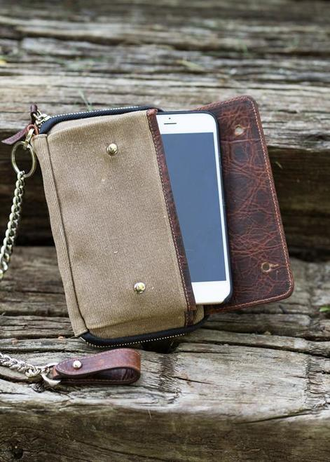 Holdfast Explorer Wallet: American Craftsmanship with Bison Leather
