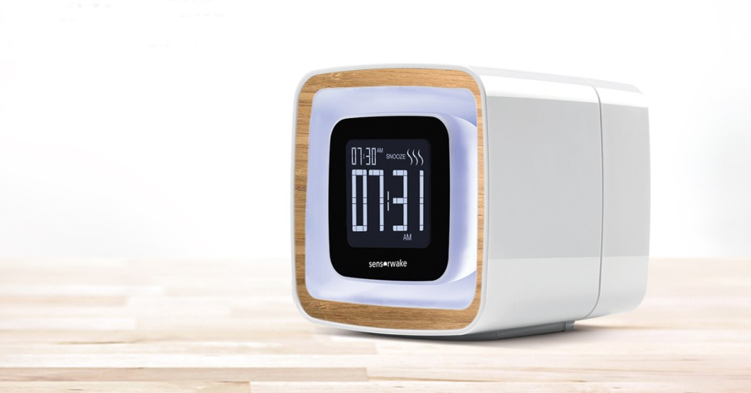 SensorWake Trio Uses Scents To Help You Wake Up