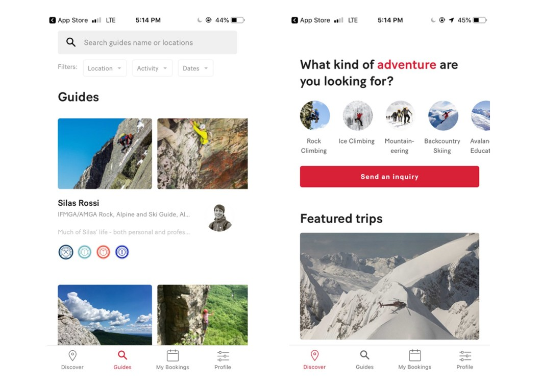 The 57Hours App Finds the Mountaineering Guide You Need