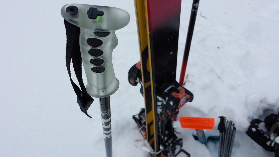 Lyte Probe: Ski Poles With Snowpack Sensors For Avalanche Safety