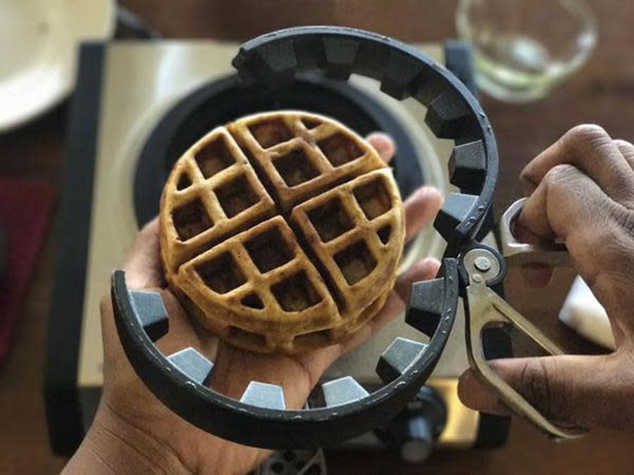 Just for Fun: Make Stuffed Waffles with the Wonderffle