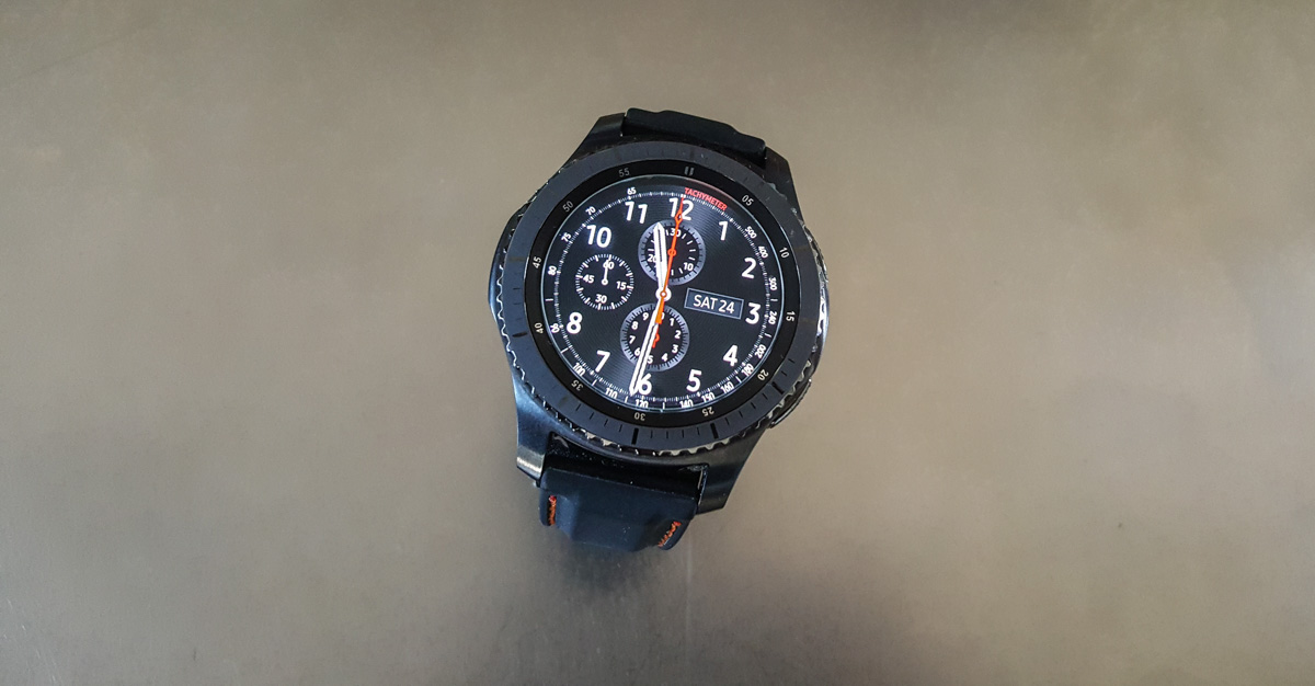 c13f829d096 Samsung Gear S3 Frontier Watch Review