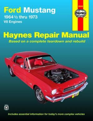 Haynes Ford Mustang Repair Manual (1964 12 Thru 1973)
