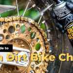 how to clean dirt bike chain