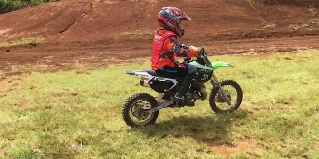 Syx Moto Holeshot 50cc Dirt Bike Review