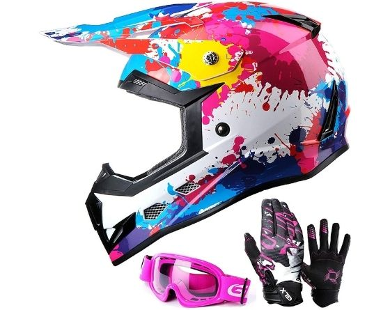 10 Best dirt bike helmets with goggles and gloves-Ultimate off-road protection gear 1