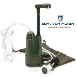 Best portable water filter - Survivor Filter PRO