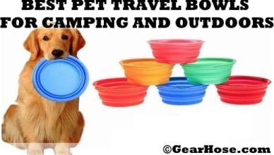best pet travel bowls