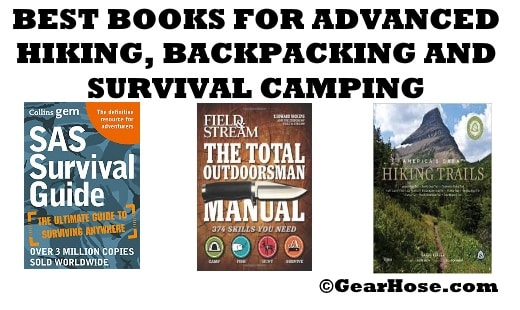 best books for advanced camping, hiking and backpacking