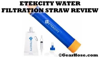 Etekcity water filteration straw