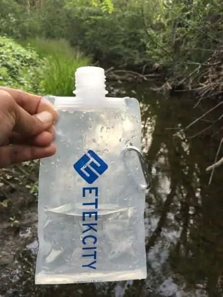 Etekcity water pouch