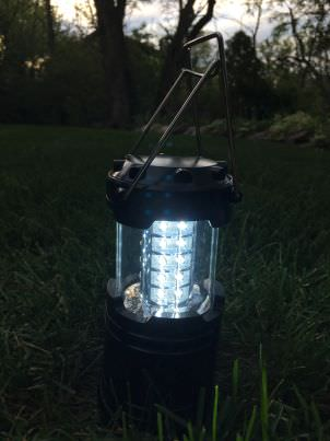 etekcity led lantern foldable hands