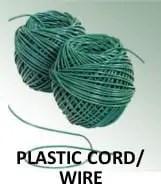 plastic cord or wire
