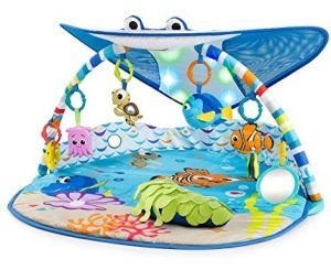 Disney Baby Mr. Ray Ocean Lights Activity Gym
