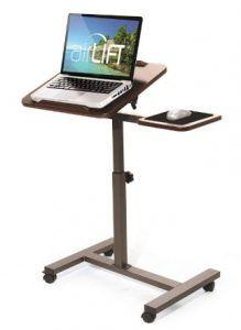 Seville Classics Tilting Sit-Stand Computer Desk