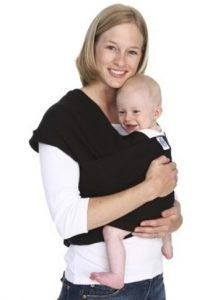 Moby Classic Baby Wrap (Black)