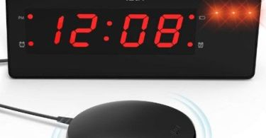 best vibrating alarm clocks