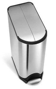 simplehuman 45 Liter / 11.9 Gallon Stainless Steel