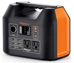 PRYMAX Portable Power Station 300W Solar Generator