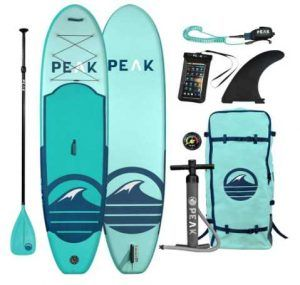 Peak All Around Inflatable Stand Up Paddle Board