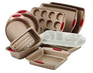 Rachael Ray 52410 10-Piece Steel Bakeware Set