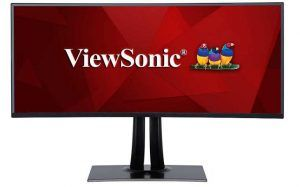 "ViewSonic VP3881 38"" Curved Monitor"