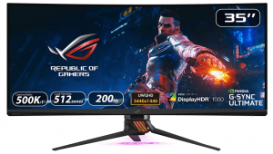 """Asus Rog Swift PG35VQ 35"""" Curved Gaming Monitor"""