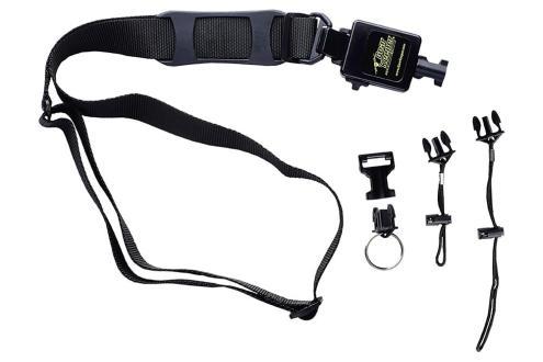 Shoulder Strap Mounted Bar Code Scanner Retractors