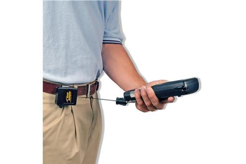 Hand Held Bar Code Scanner/Gas Detector Retractors