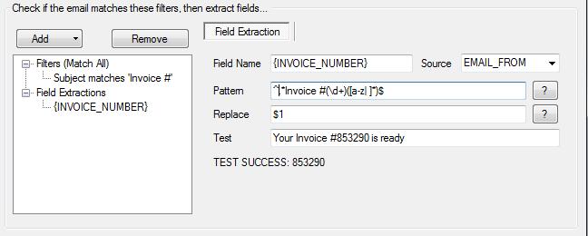 Extract Invoice
