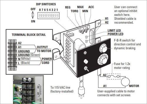 New DC Motor Speed Control with Dynamic Braking | Bodine Electric Gearmotor Blog