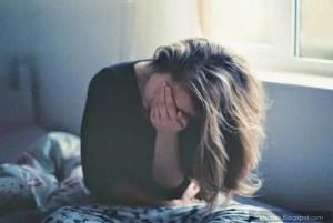sad girl status