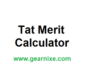 Tat Merit Calculator