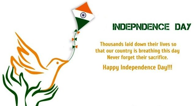 Happy Independence Day Quotes 15 August 2020