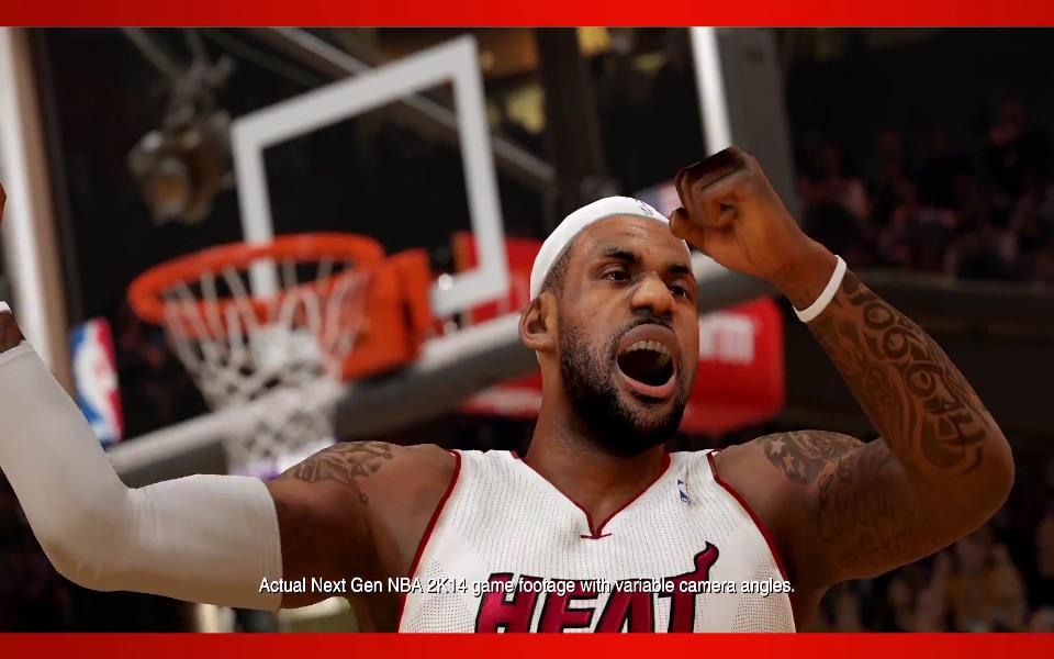 The Weirdest NBA 2K14 LeBron Glitch That You Will See Today