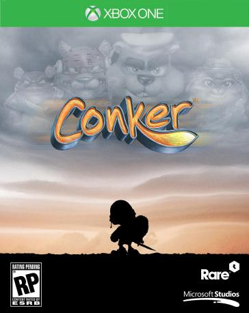 2 - Conker Xbox One Cover Mockup