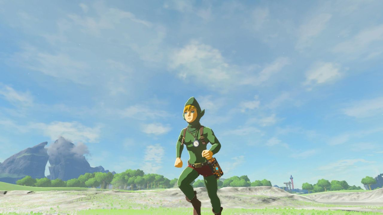 Legend Of Zelda Breath Of The Wild How To Find Tingles Outfit Hood Shirt And Tights