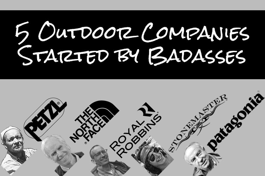 five outdoor badasses