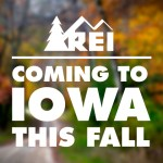 Adventure in Iowa with REI Coming this Fall